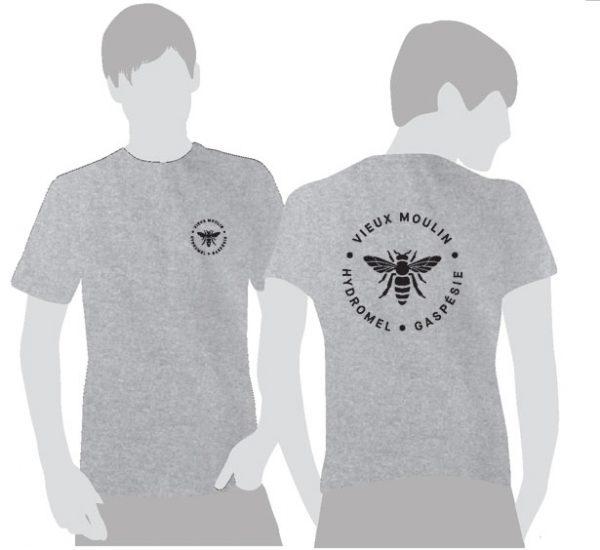 T-shirt-gris-logo